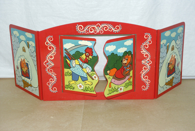 Театральная ширма в детский сад своими руками